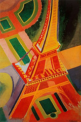 Robert Delaunay, La Tour Eiffel