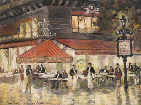 Constant Korovine, Café de la Paix