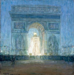 Arc de Triomphe by Henry Ossawa Tanner