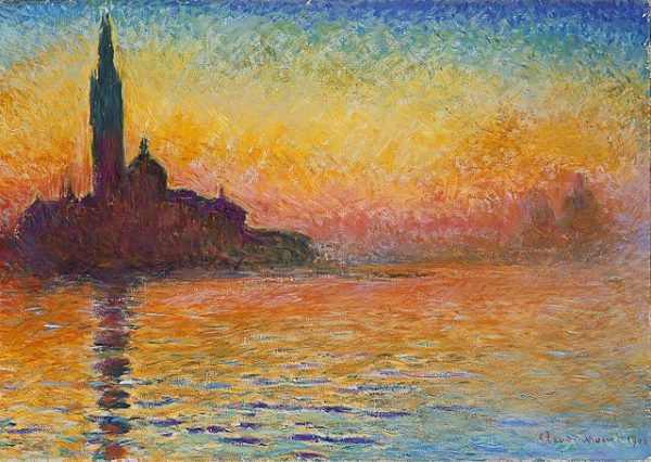 Claude Monet San Giorgio Maggiore at Dusk (1908)